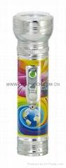 LED金屬/鐵質圖案手電筒 FT2DE7P