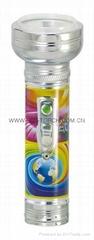 LED金屬/鐵質圖案手電筒 FT2DE8P