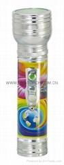 LED金屬/鐵質圖案手電筒 FT2DE9P