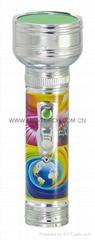 LED金屬/鐵質圖案手電筒 FT2DE10P