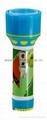LED彩色塑料手電筒 95C2