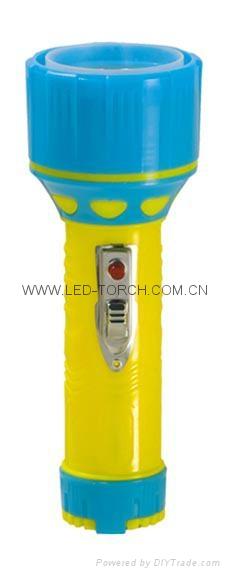 LED彩色塑料手電筒 95C2DE2C 1