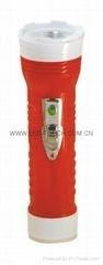 LED彩色塑料手電筒 96B2DE1