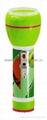 LED彩色塑料手電筒 97D2