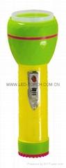 LED彩色塑料手電筒 97D2DE2C