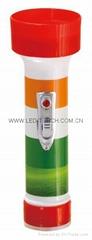LED彩色塑料手電筒 FTJ99E2R