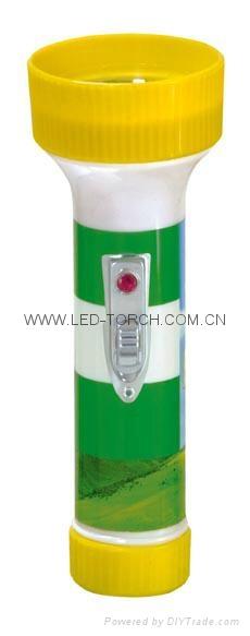 LED彩色塑料手電筒 FTJ99E2 2