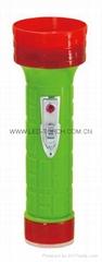 LED彩色塑料手電筒 RS350