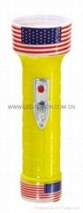 LED彩色塑料手電筒 RS350L