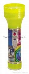 LED鐵塑彩色手電筒 MPS350PC