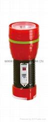 LED鐵塑彩色手電筒 TWF1DE1BC