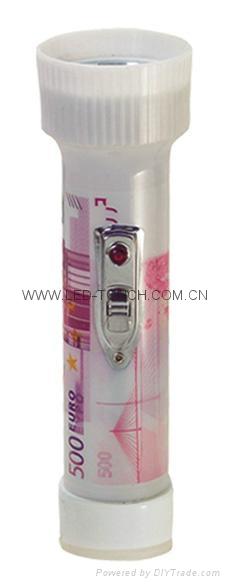 LED彩色塑料手電筒 FTJ99E1R 2