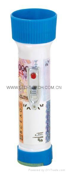 LED彩色塑料手電筒 FTJ99E1R 1