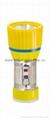 LED Metal/Steel-Plastic Colour Flashlight/Torch TWX1DE1C