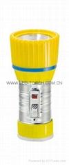 LED鐵塑彩色手電筒 TWX1DE1C