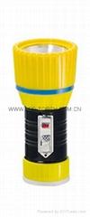 LED鐵塑彩色手電筒 TWX1DE1BC
