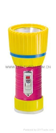 LED鐵塑彩色手電筒 TWX1DE1PC 1