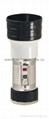 LED Metal/Steel-Plastic Colour Flashlight/Torch MPS150C
