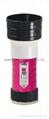 LED Metal/Steel-Plastic Colour Flashlight/Torch MPS150PC