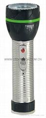 LED鐵塑彩色手電筒 TWJ2DE2