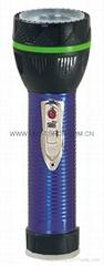 LED鐵塑彩色手電筒 TWJ2DE2E