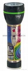 LED鐵塑彩色手電筒 TWJ2DE2P
