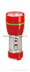 LED鐵塑彩色手電筒 TWF1DE1C