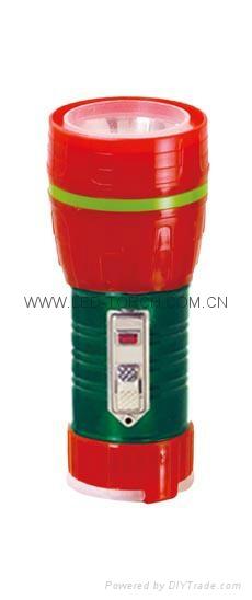LED鐵塑彩色手電筒 TWF1DE1EC 2