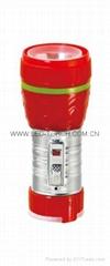LED鐵塑彩色手電筒 TWE1DE1C