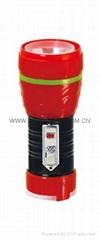 LED鐵塑彩色手電筒 TWE1DE1BC