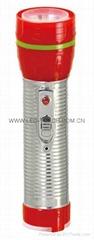 LED鐵塑彩色手電筒 TWF2DE1C