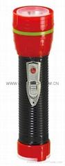 LED鐵塑彩色手電筒 TWF2DE1BC