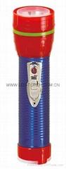 LED鐵塑彩色手電筒 TWF2DE1EC