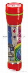LED鐵塑彩色手電筒 TWF2DE1PC