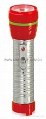 LED鐵塑彩色手電筒 TWE2DE1C