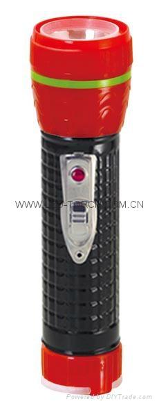 LED鐵塑彩色手電筒 TWE2DE1BC 4