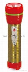 LED鐵塑彩色手電筒 TWE2DE1EC