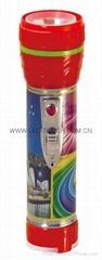 LED鐵塑彩色手電筒 TWE2DE1PC