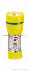 LED鐵塑彩色手電筒 TWG1DE1C