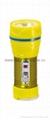 LED Metal/Steel-Plastic Colour Flashlight/Torch TWG1DE1EC