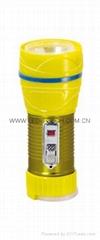 LED鐵塑彩色手電筒 TWG1DE1EC