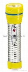 LED鐵塑彩色手電筒 TWG2DE1C