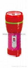 LED鐵塑彩色手電筒 TWF1DE1PC