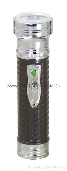 LED鐵塑彩色手電筒 KB3001 1