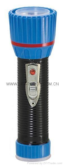LED鐵塑彩色手電筒 TWX2DE1BC 2