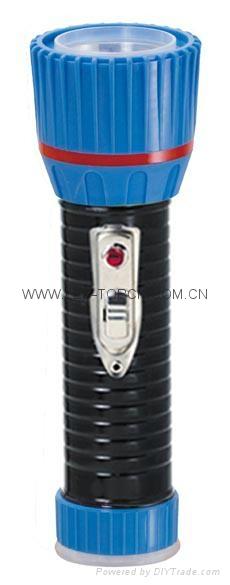 LED鐵塑彩色手電筒 TWX2DE1BC 3
