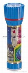 LED鐵塑彩色手電筒 TWX2DE1PC