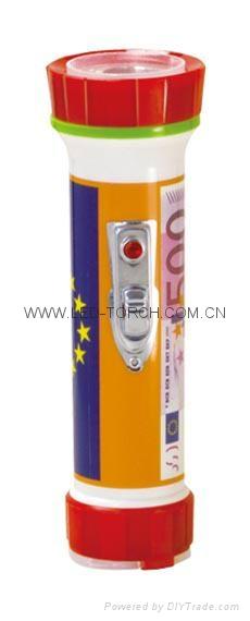 LED彩色塑料手電筒 PH300P 1
