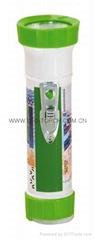 LED彩色塑料手電筒 TWP2DE3