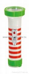 LED彩色塑料手電筒 TWP2DE4